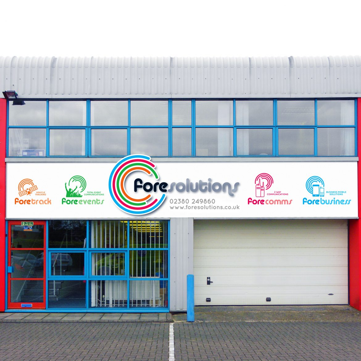 Fore Solutions Signage Design