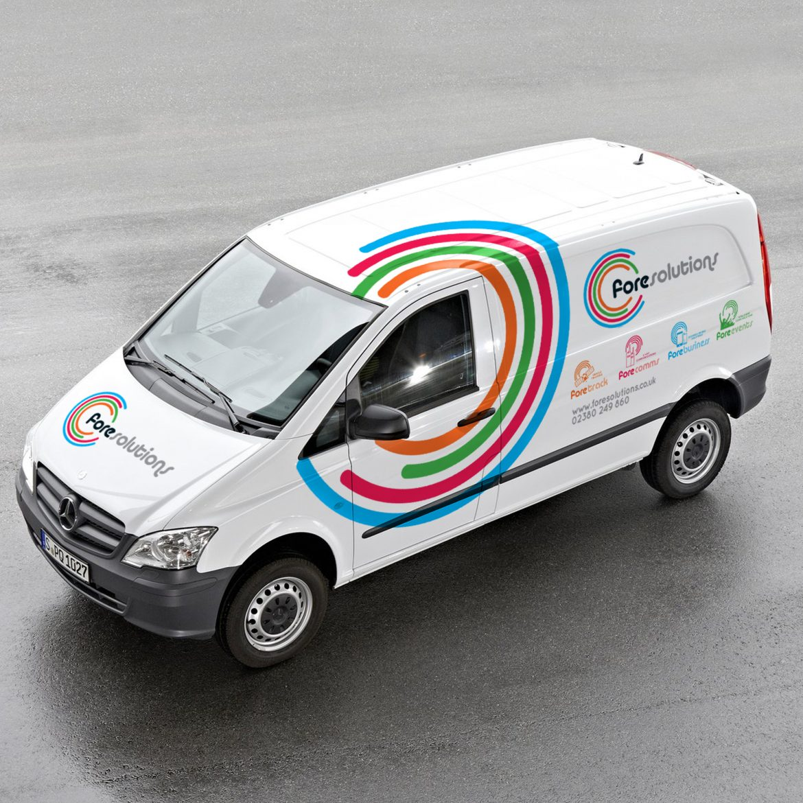 Fore Solutions Vehicle Graphics