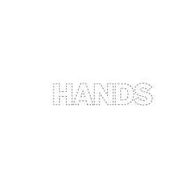 white out of your hands logo