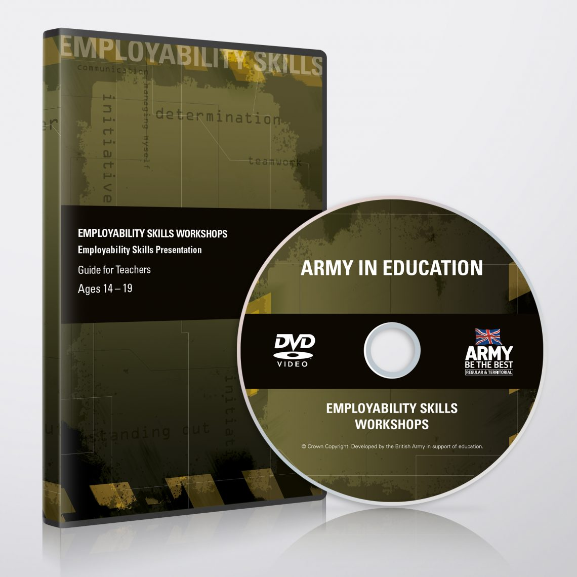 Army DVD Cover Design