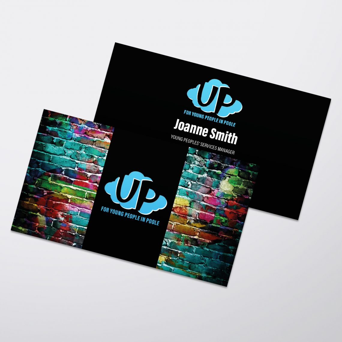 UP in Poole Business Card Design
