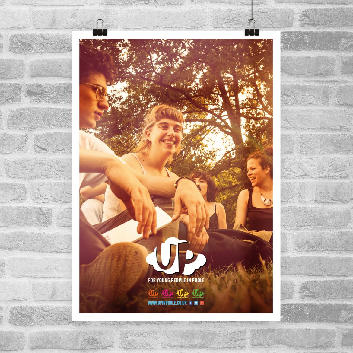 UP in Poole Poster Design
