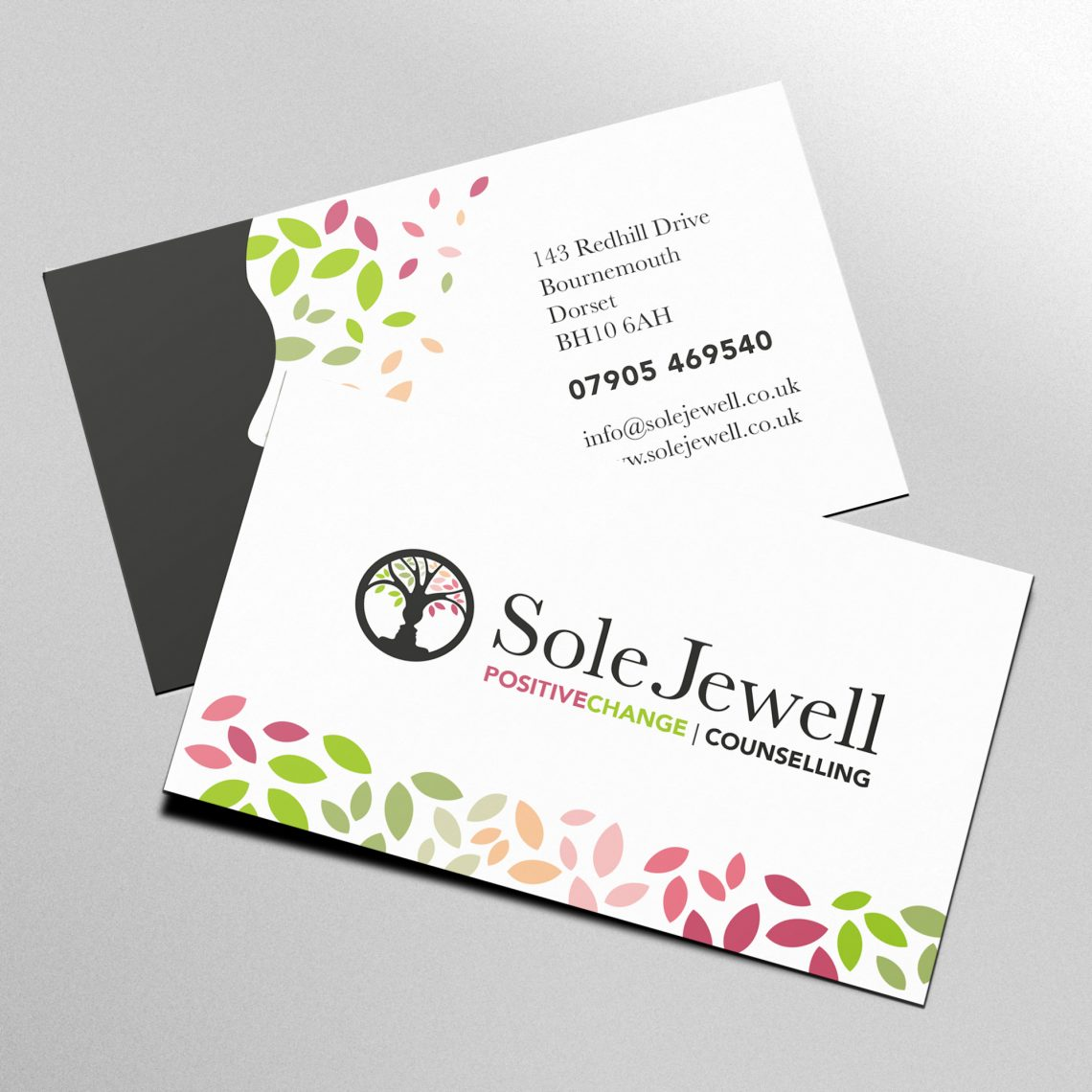 Sole Jewell Business Card Design