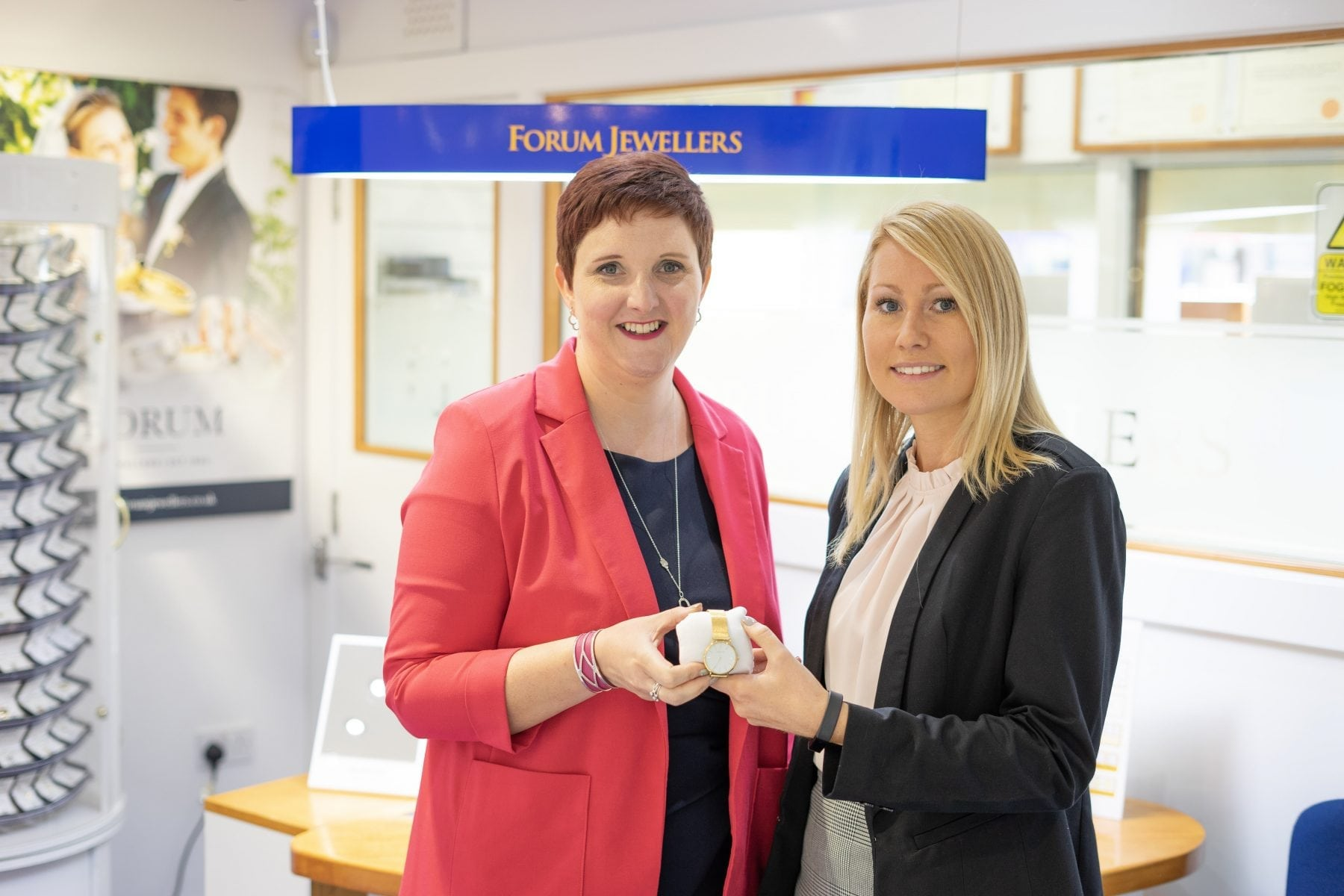Helen of Forum Jewellers and Danielle