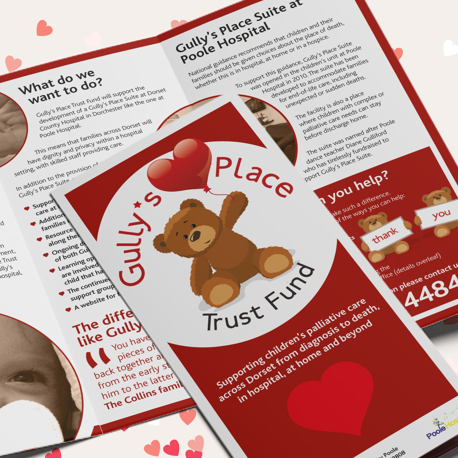 Gully's Place Brochure Design