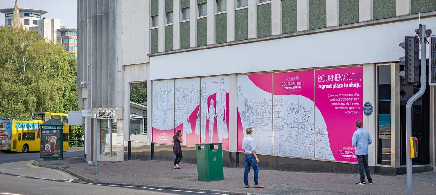 Creative Partnership with the Bournemouth Town Centre BID