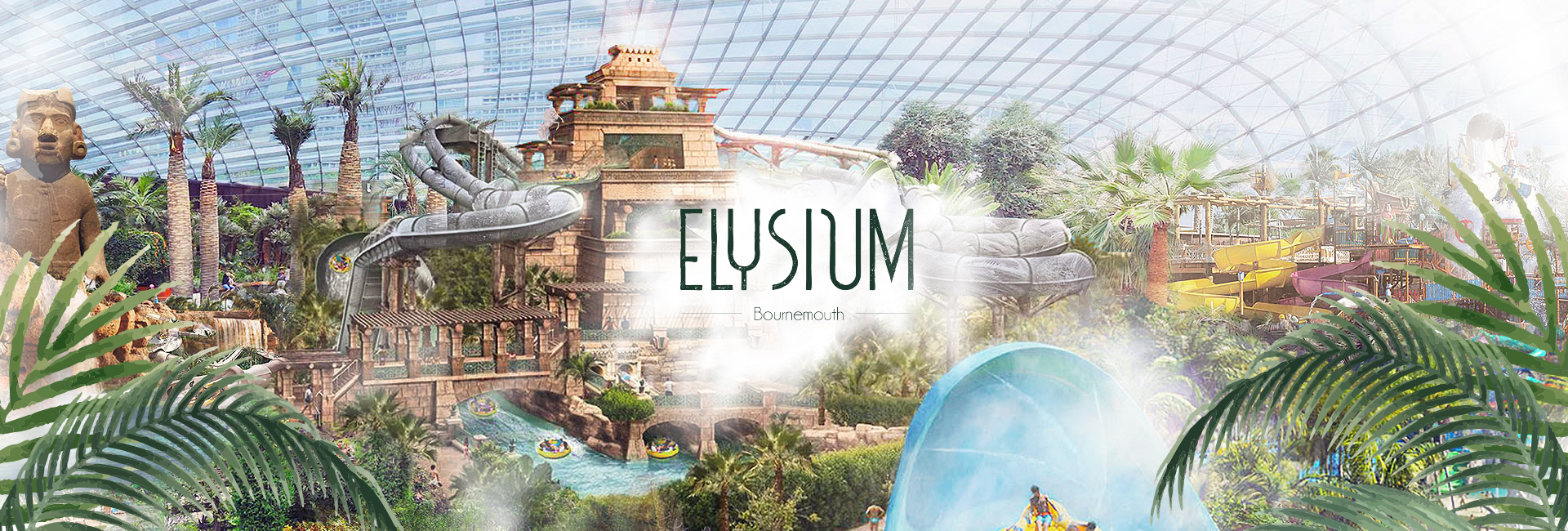 Digital Storm design and launch website for £75 million waterpark that could be opening in Bournemouth in 2023.