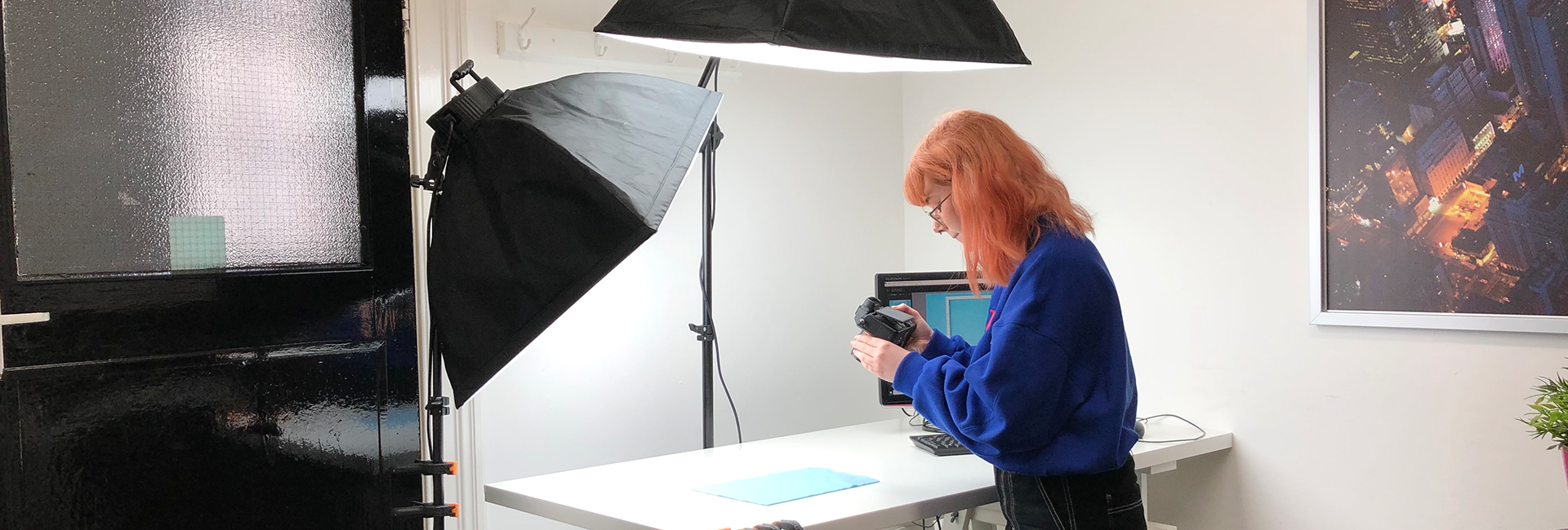 Digital Storm enjoys hosting Grace for some photography work experience