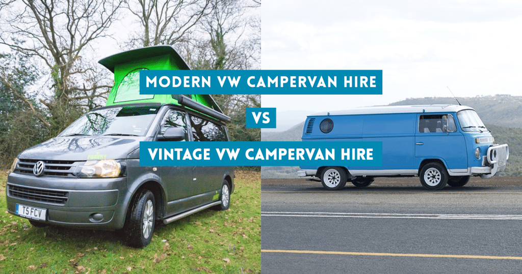 Modern VW Campervan Hire