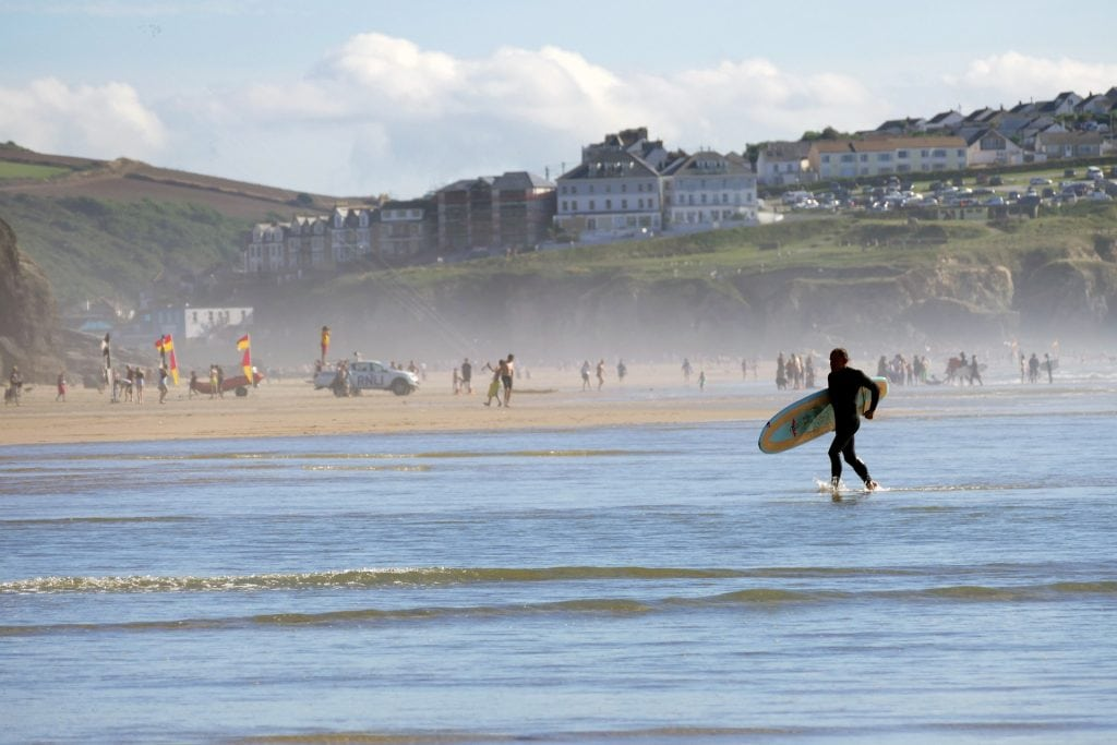 surfing campervan holiday