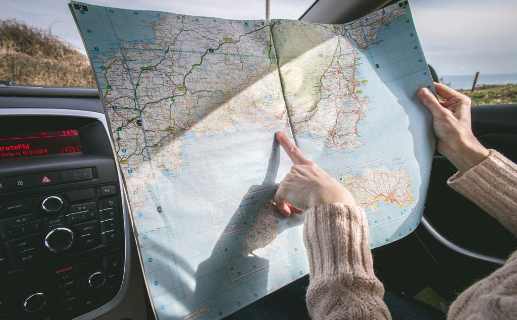 uk road trip ideas in a campervan